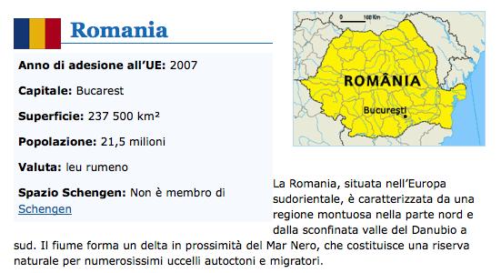 Calendario Rumeno.Romania Imyeuro